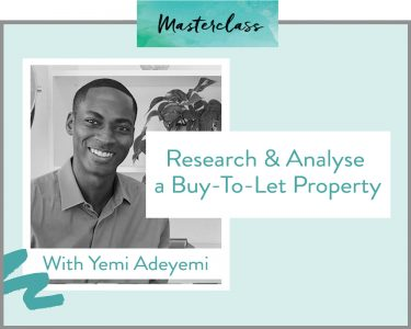 Research and analyse a buy-to-let property